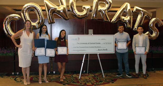 AHLEF Surprises Hospitality Students with Scholarships