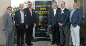 Courtyard by Marriott Lancaster to Run Off 100 Percent Solar Power