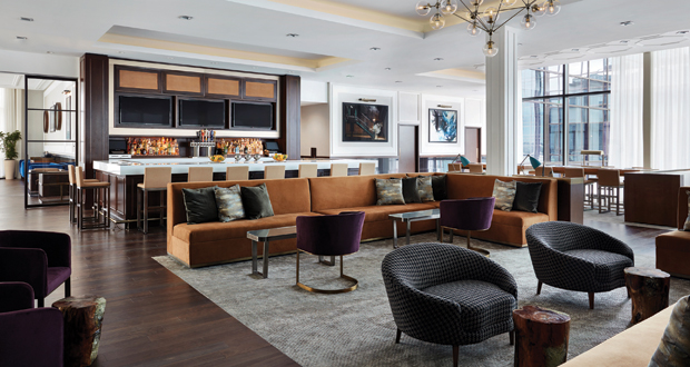Check Out the Hyatt House Jersey City Lounge