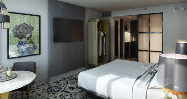 W Atlanta-Buckhead guestroom entry view
