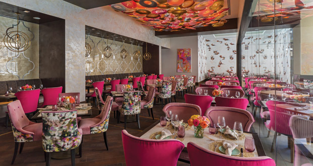 Inside The Post Oak's Bloom & Bee Restaurant
