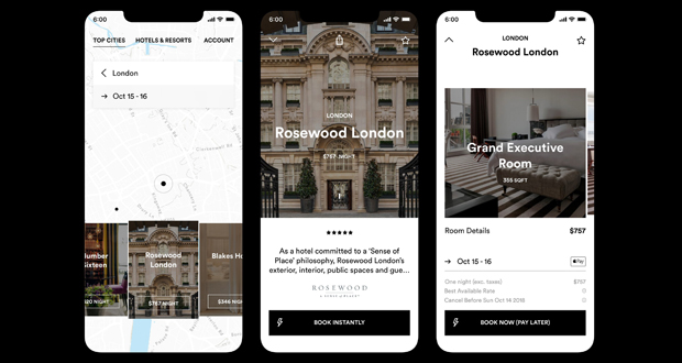 SIX Travel App Enables Booking via Instagram Stories