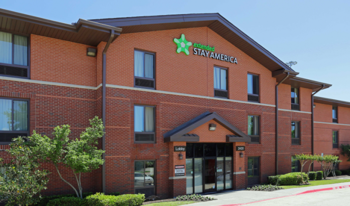 Extended Stay America Arlington Six Flags, part of the Provident portfolio sale
