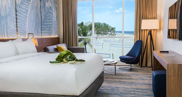 B Ocean Resort In Fort Lauderdale Fla Has Completed Its Multimillion Dollar Renovation The Is Conveniently Located Heart Of City