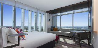 Aloft Perth Hotel Australia Guestroom