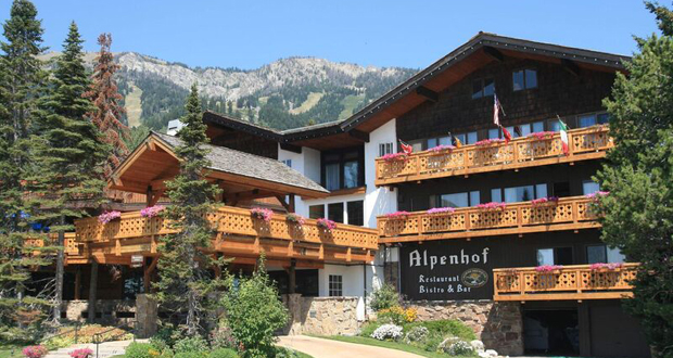 Alpenhof Lodge, Teton Village, Wyoming