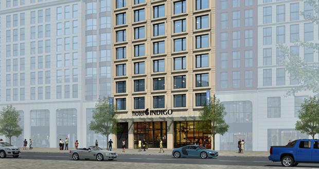 Hotel Indigo, Maiden Lane, New York