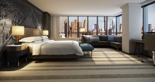 The Marquette Hotel, Curio Collection by Hilton, Guestroom