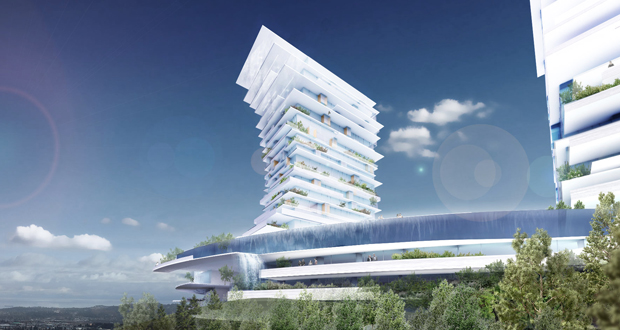 Radical Innovation-Vertical Micro Climate Resort