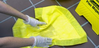 Cleanup when guests get sick