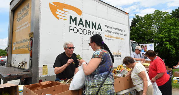 MANNA's work in WNC to end hunger