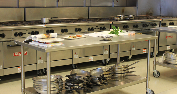 Commercial Hotel Kitchen
