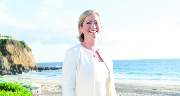 Lindsey Ueberroth, CEO of Preferred Hotels & Resorts