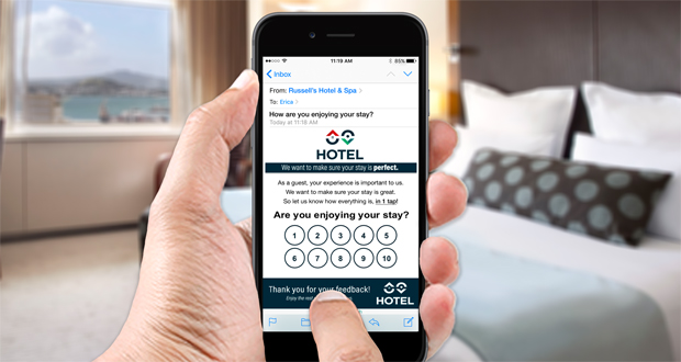 Fetch Survey Phone in Room