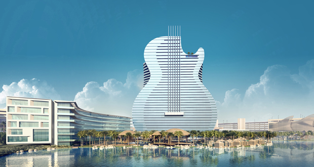 Seminole Hard Rock Hotel Guitar Tower