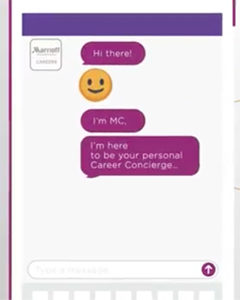 Marriott Career chatbot