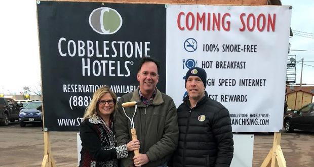 Cobblestone Inn & Suites Ashland Ground Breaking