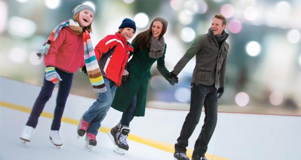 Gaylord National Resort-Ice Skating