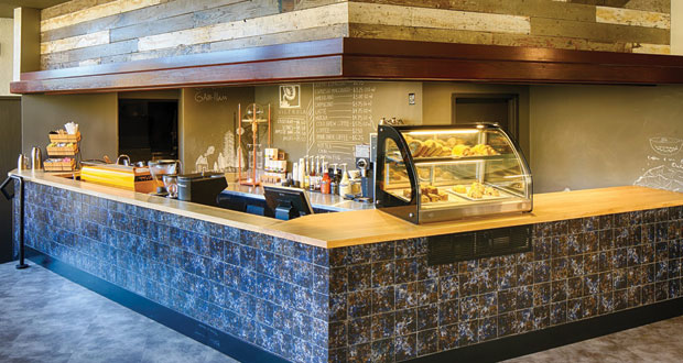 Hotel RL Spokane cafe (Photo Credit RLH Corporation)