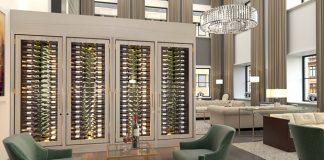 Ritz Carlton Chicago wine cabinet