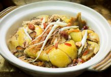Chinese-Herbal-Chicken-with-Chinese-Wine-in-Clay-Pot