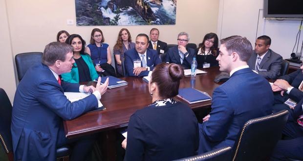 AHLA members Meeting with Warner