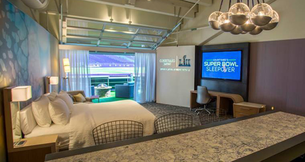 Super Bowl Sleepover Marriott