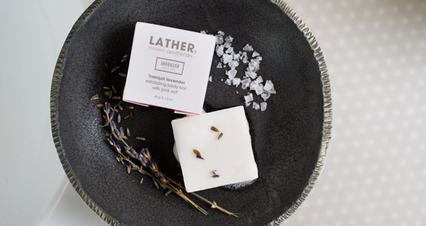 LATHER Soap - personalized amenities and experience