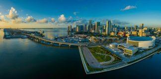 Miami panorama skyline