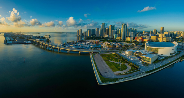 Miami panorama skyline