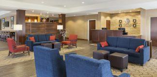 Comfort Inn Rochester Lobby