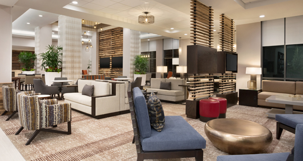 Home2 Suites by Hilton Birmingham Downtown lobby
