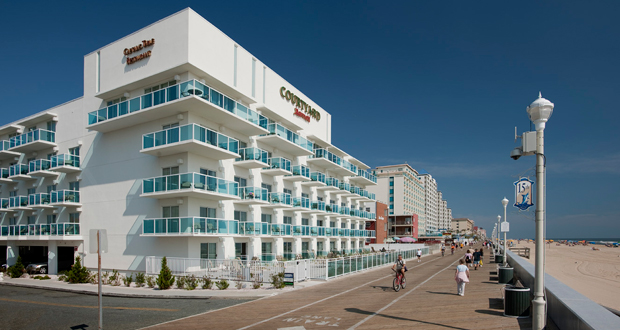 Newport Hospitality Group managed Courtyard by Marriott hotel in Ocean City, Md.