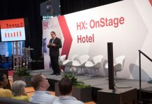 Speaker Peter Yesawich at HX: The Hotel Experience Show in 2017