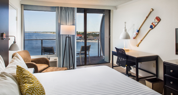The Godfrey Hotel Guestroom