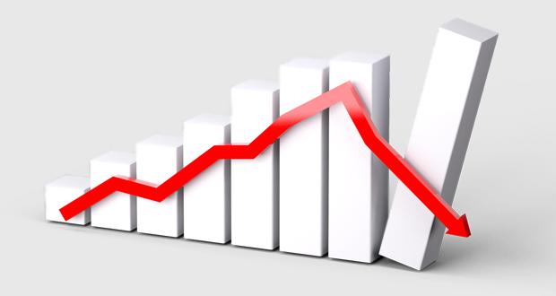 Downturn chart