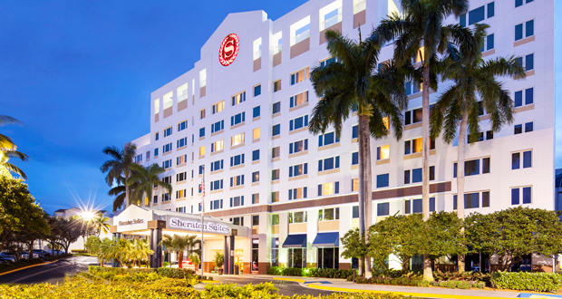 Sheraton Suites Plantation in Broward County, Fla.