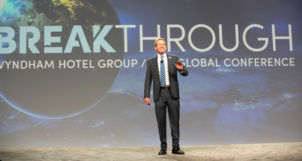 Wyndham Hotel Group Global Conference 2018_President and CEO Geoff Ballotti