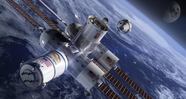 Aurora Station - space hotel