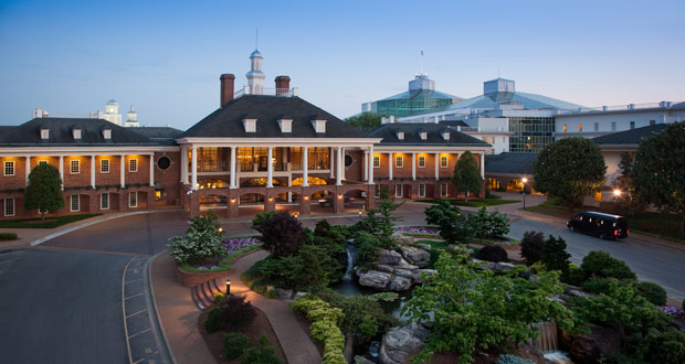 Gaylord Opryland Resorts & Convention Center, Nashville—the top meeting hotel in Cvent's 2018 list