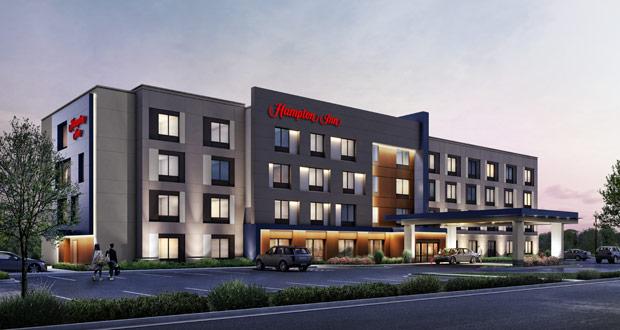 Hampton by Hilton exterior design