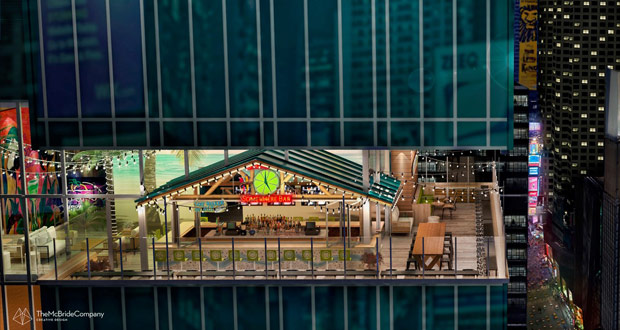 Margaritaville Times Square rendering
