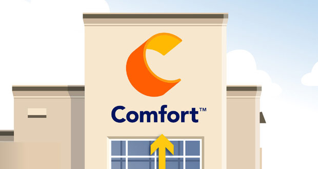 The New Comfort logo