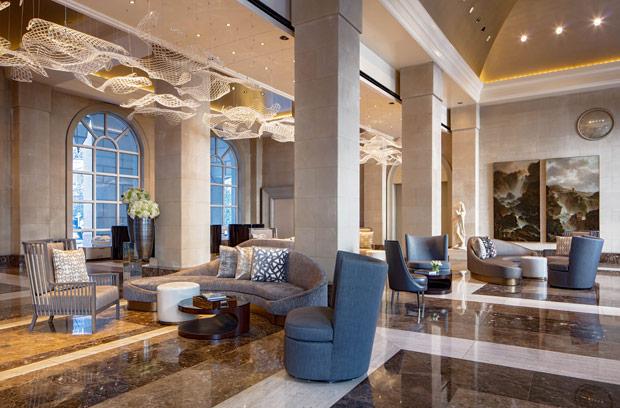 Hotel Crescent Court Lobby
