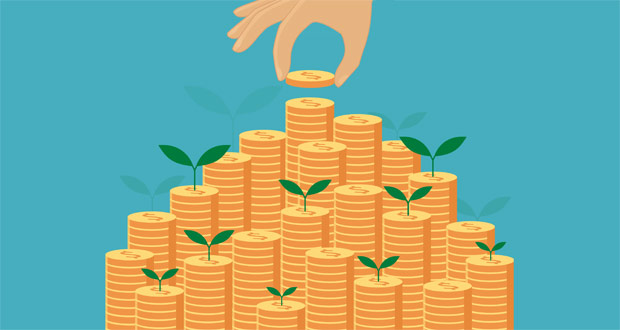 Money pile profits growth
