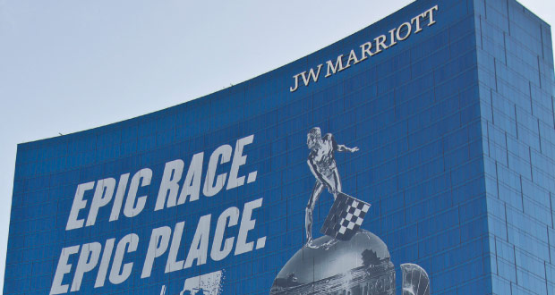 Indy 500 JW Marriott