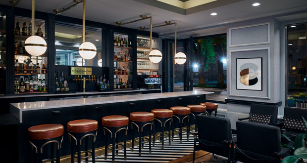 Claridge House Bar Night