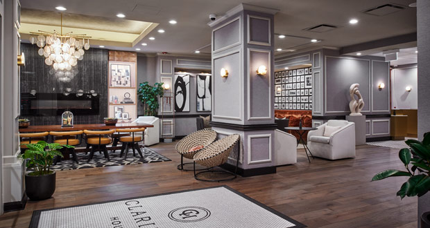 Claridge House Lobby