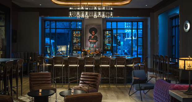 M. Brown's bar at the Renaissance Philadelphia Downtown hotel