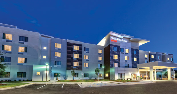 McNeill Hotels' TownePlace Suites by Marriott Auburn in Auburn, Ala., is within walking distance of Auburn University's campus.